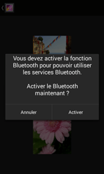 Bouygues Telecom Bs 403 - Photos, vidéos, musique - Envoyer une photo via Bluetooth - Étape 11