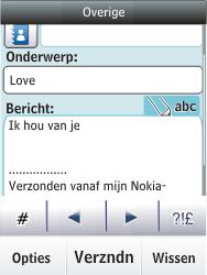 Nokia C2-03 - E-mail - E-mails verzenden - Stap 13