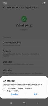 Samsung Galaxy A51 5G - Applications - Supprimer une application - Étape 7