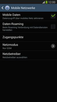 Samsung N9005 Galaxy Note 3 LTE - Netzwerk - Netzwerkeinstellungen ändern - Schritt 8