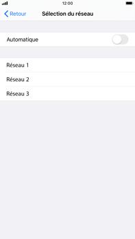 Apple iPhone 6s Plus - iOS 13 - Réseau - Utilisation à l