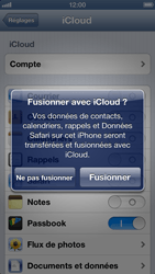Apple iPhone 5 - Applications - Configuration du service iCloud d