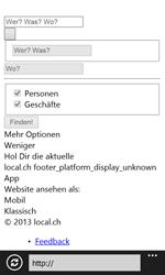Nokia Lumia 820 / Lumia 920 - Internet und Datenroaming - Verwenden des Internets - Schritt 11