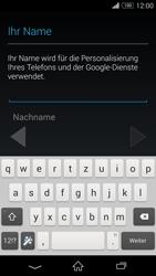 Sony D6603 Xperia Z3 - Apps - Konto anlegen und einrichten - Schritt 6