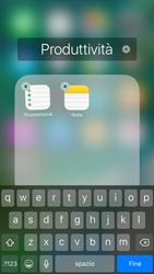 Apple iPhone 6s iOS 10 - Operazioni iniziali - Personalizzazione della schermata iniziale - Fase 6
