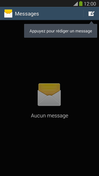 Samsung N9005 Galaxy Note III LTE - SMS - Configuration manuelle - Étape 4