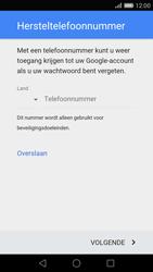 Huawei P8 - apps - account instellen - stap 7
