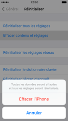 Apple iPhone SE - iOS 10 - Appareil - Réinitialisation de la configuration d
