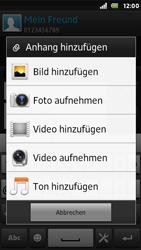 Sony Xperia U - MMS - Erstellen und senden - 15 / 19