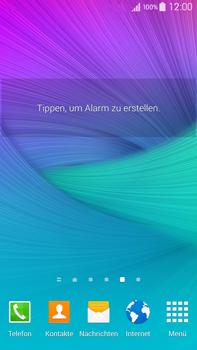 Samsung Galaxy Note 4 - Startanleitung - Installieren von Widgets und Apps auf der Startseite - Schritt 7