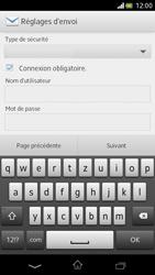 Sony Xperia V - E-mail - Configuration manuelle - Étape 12
