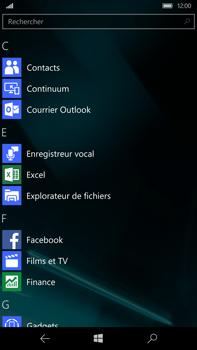 Microsoft Lumia 950 XL - E-mail - envoyer un e-mail - Étape 2