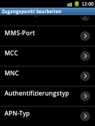 Samsung Galaxy Pocket - Internet und Datenroaming - Manuelle Konfiguration - Schritt 12