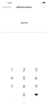 Oppo Find X2 - Startanleitung - So aktivieren Sie eine SIM-PIN - Schritt 7
