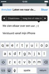 Apple iPhone 4S iOS 9 - E-mail - hoe te versturen - Stap 10