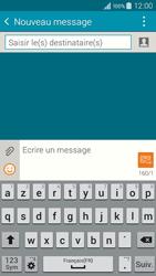 Samsung Galaxy A3 (A300FU) - Contact, Appels, SMS/MMS - Envoyer un SMS - Étape 5