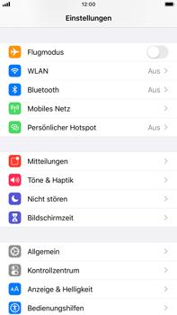 Apple iPhone 6s Plus - iOS 13 - Fehlerbehebung - Handy zurücksetzen - Schritt 5