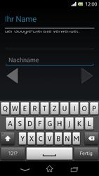 Sony Xperia L - Apps - Konto anlegen und einrichten - 2 / 2