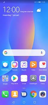 Huawei P Smart Plus - apps - account instellen - stap 2