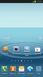 Samsung Galaxy S III - Operazioni iniziali - Installazione di widget e applicazioni nella schermata iniziale - Fase 9