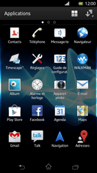 Sony LT30p Xperia T - Wifi - configuration manuelle - Étape 2