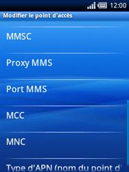 Sony Xperia X10 Mini - MMS - Configuration manuelle - Étape 9