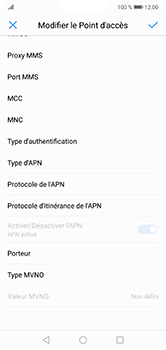Huawei P20 Lite - Internet - configuration manuelle - Étape 13
