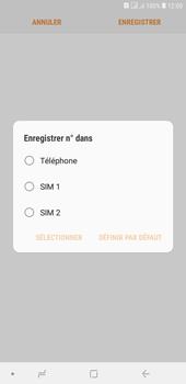 Samsung Galaxy J4+ - Contact, Appels, SMS/MMS - Ajouter un contact - Étape 6