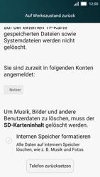 Huawei Y5 - Fehlerbehebung - Handy zurücksetzen - 8 / 10