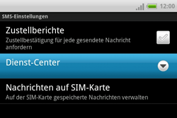 HTC ChaCha - SMS - Manuelle Konfiguration - 6 / 8