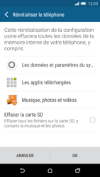 HTC One M9 - Téléphone mobile - Réinitialisation de la configuration d
