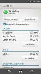 Sony Xperia Z3 Compact - Apps - Eine App deinstallieren - Schritt 6