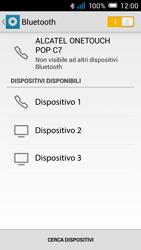 Alcatel Pop C7 - Bluetooth - Collegamento dei dispositivi - Fase 6