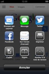 Apple iPhone 4S - Internet et roaming de données - Navigation sur Internet - Étape 5