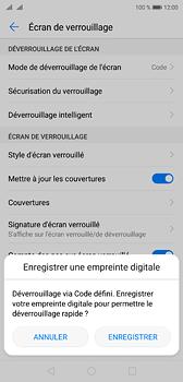Huawei P20 - Sécuriser votre mobile - Activer le code de verrouillage - Étape 11