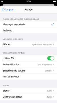 Apple iPhone 7 Plus - iOS 13 - E-mail - configuration manuelle - Étape 22