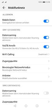 Huawei P20 - Android Pie - Ausland - Auslandskosten vermeiden - Schritt 7