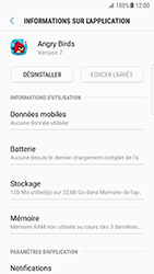 Samsung Galaxy S7 Edge - Android N - Applications - Comment désinstaller une application - Étape 6