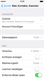 Apple iPhone 5s - E-Mail - Konto einrichten (outlook) - Schritt 9