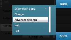 Nokia N97 - MMS - Manual configuration - Step 17