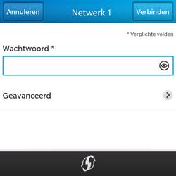 BlackBerry Q5 - Wifi - handmatig instellen - Stap 8