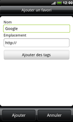 HTC S510e Desire S - Internet - navigation sur Internet - Étape 6
