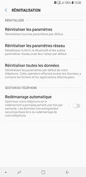 Samsung Galaxy A7 2018 - Aller plus loin - Restaurer les paramètres d'usines - Étape 6