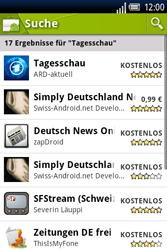 Sony Ericsson Xperia X8 - Apps - Herunterladen - 6 / 22
