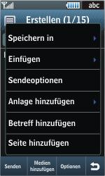 Samsung Jet - MMS - Erstellen und senden - 14 / 22