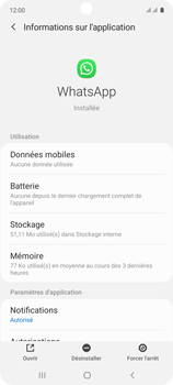 Samsung Galaxy A71 - Applications - Supprimer une application - Étape 6