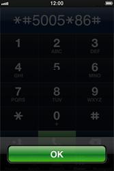 Apple iPhone 4 - Messagerie vocale - configuration manuelle - Étape 5