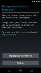 Sony Xperia M2 - apps - account instellen - stap 12