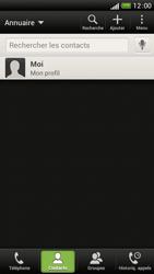 HTC One S - Contact, Appels, SMS/MMS - Ajouter un contact - Étape 5