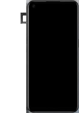 Oppo A53s - Premiers pas - Insérer la carte SIM - Étape 6